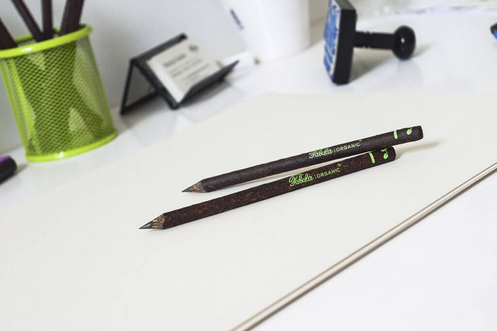 Fabula Organic Pencil office business gift sustainable