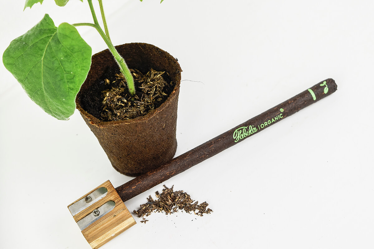 Fabula Organic Pencil business gift sustainable recycled coffee