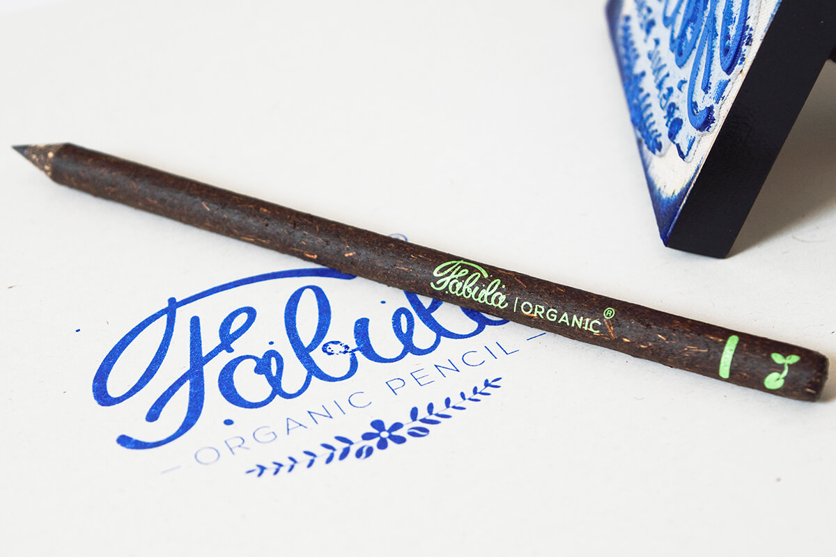Fabula Organic Pencil business gift sustainable